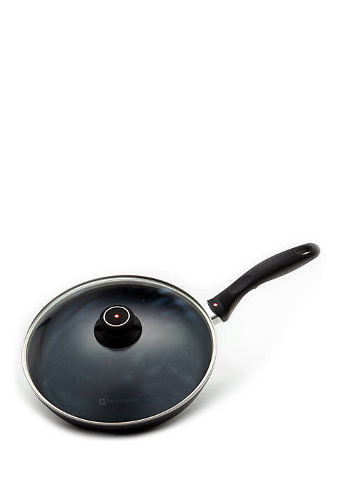 Fry Pan with Lid - 10.25-in.