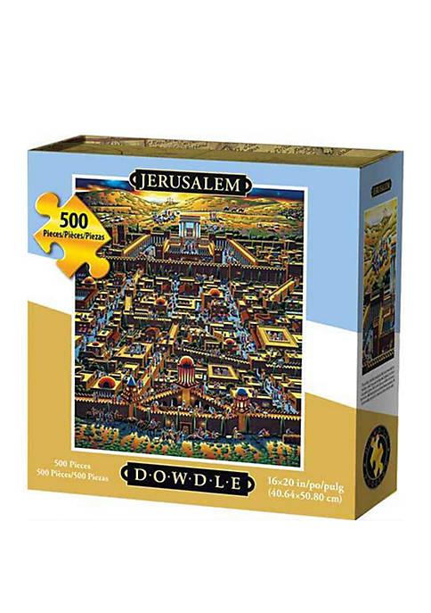 DOWDLE PUZZLES Jerusalem 500 Piece Puzzle