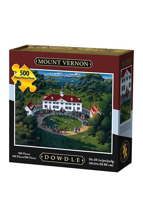 DOWDLE PUZZLES Mount Vernon 500 Piece Puzzle