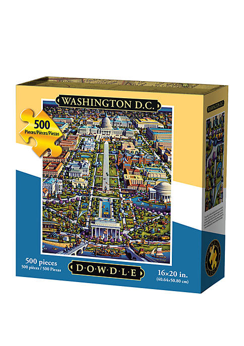 Washington D.C. 500 Piece Puzzle