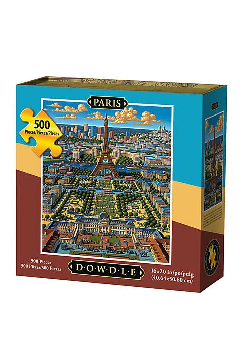 DOWDLE PUZZLES Paris 500 Piece Puzzle