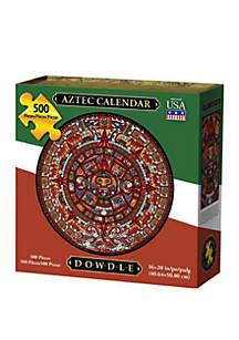 DOWDLE PUZZLES Aztec Calendar 500 Piece Puzzle