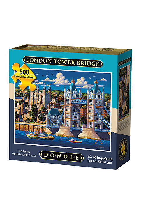 London Tower Bridge 500 Piece Puzzle