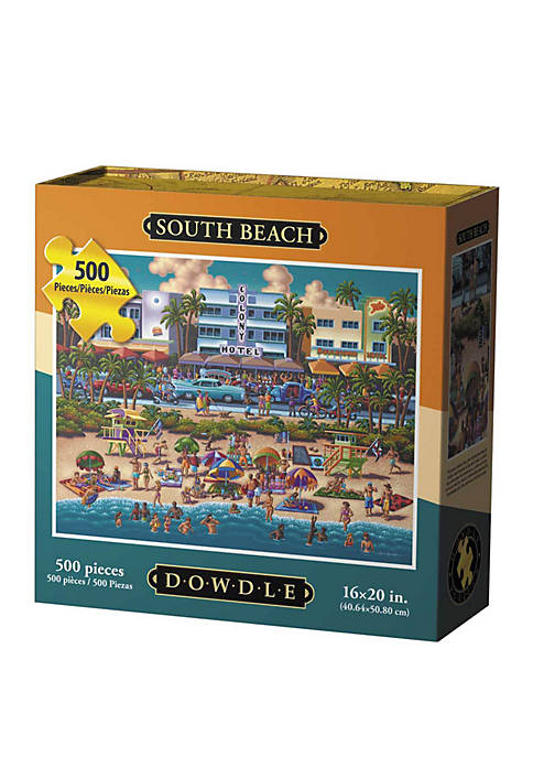 South Beach 500 Piece Puzzle