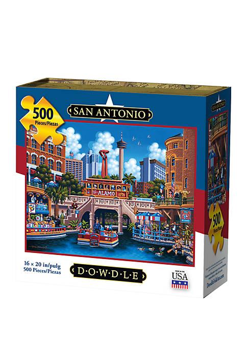 San Antonio 500 Piece Puzzle