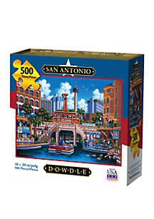 DOWDLE PUZZLES San Antonio 500 Piece Puzzle