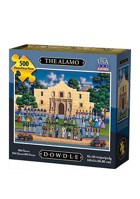 The Alamo 500 Piece Puzzle