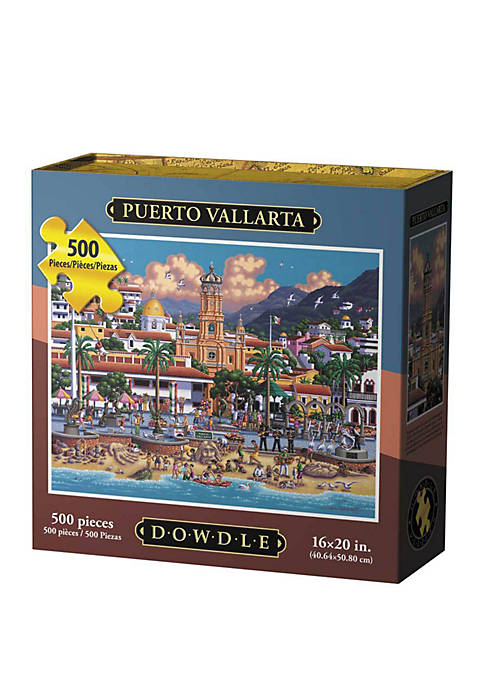 Puerto Vallarta 500 Piece Puzzle