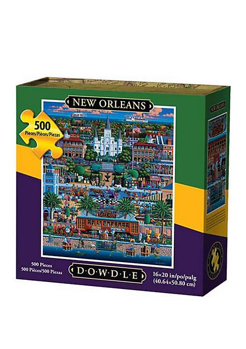 DOWDLE PUZZLES New Orleans 500 Piece Puzzle