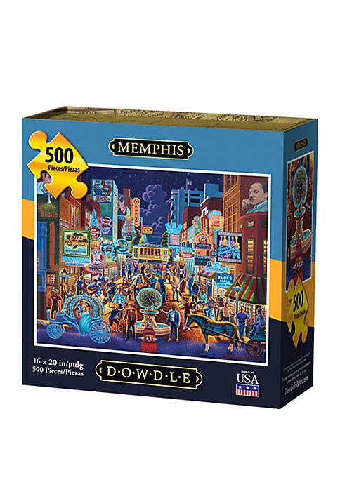 DOWDLE PUZZLES Memphis 500 Piece Puzzle