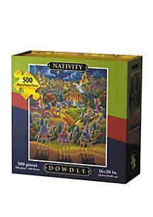 DOWDLE PUZZLES Nativity 500 Piece Puzzle