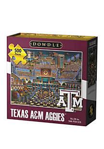 DOWDLE PUZZLES Texas A&M Aggies 500 Piece Puzzle
