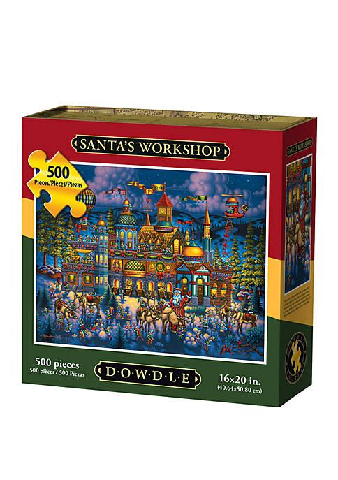 Santas Workshop 500 Piece Puzzle