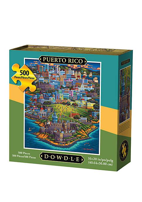 Puerto Rico 500 Piece Puzzle