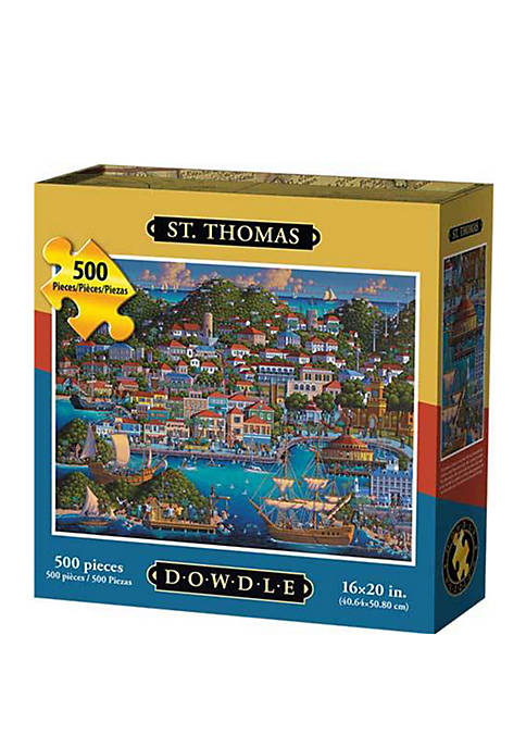 St. Thomas 500 Piece Puzzle