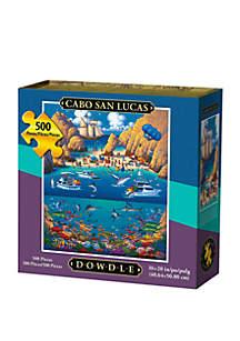DOWDLE PUZZLES Cabo San Lucas 500 Piece Puzzle