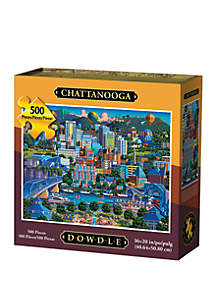 DOWDLE PUZZLES Chattanooga 500 Piece Puzzle