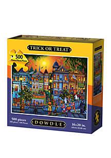 DOWDLE PUZZLES Trick or Treat 500 Piece Puzzle