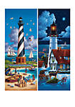 Lighthouses North 500 Piece Puzzle