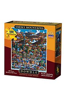 DOWDLE PUZZLES Smoky Mountain National Park 500 Piece Puzzle