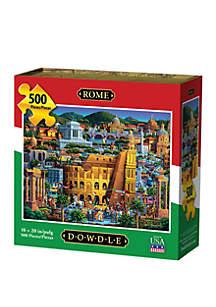DOWDLE PUZZLES Rome 500 Piece Puzzle