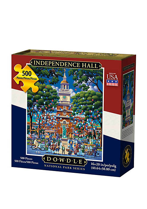 DOWDLE PUZZLES Independence National Historic Park 500 Piece