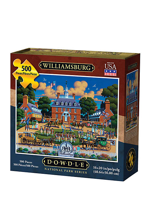 Williamsburg National Historic Park 500 Piece Puzzle