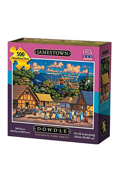 DOWDLE PUZZLES Jamestown National Historic Park 500 Piece