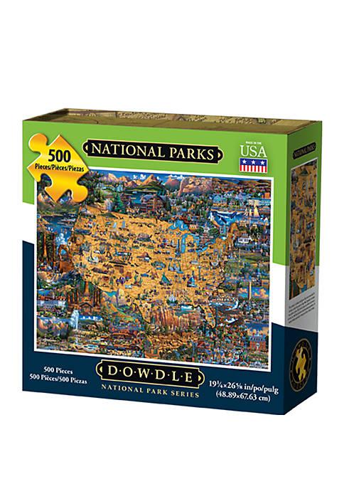 National Parks 500 Piece Puzzle