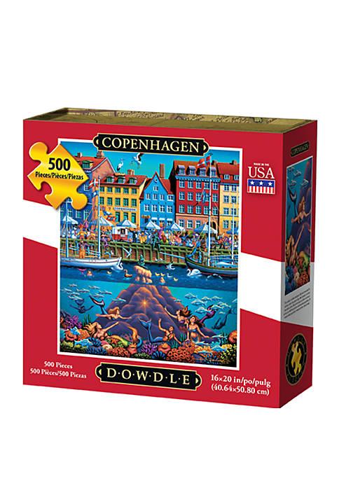 DOWDLE PUZZLES Copenhagen 500 Piece Puzzle