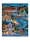 Over the River 500 Piece Puzzle