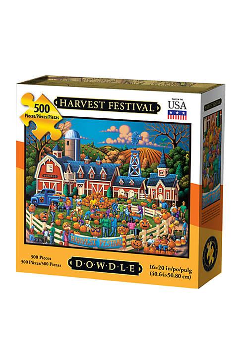 DOWDLE PUZZLES Harvest Festival 500 Piece Puzzle