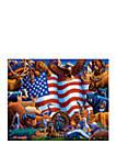 Animals of America 500 Piece Puzzle