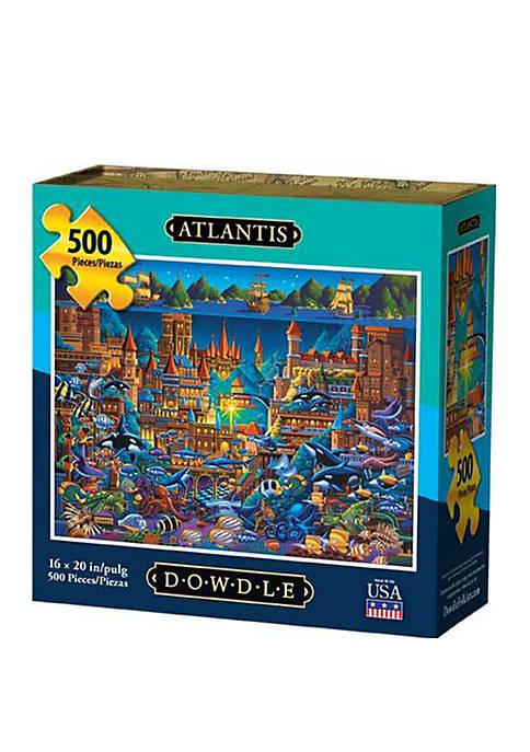 DOWDLE PUZZLES Atlantis 500 Piece Puzzle