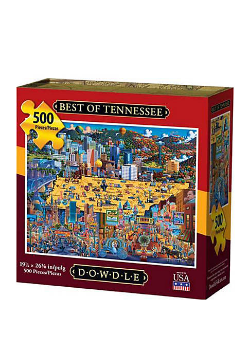 DOWDLE PUZZLES Best of Tennessee 500 Piece Puzzle