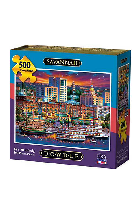 Savannah 500 Piece Puzzle