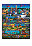 Omaha Trains 500 Piece Puzzle
