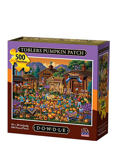 Toblers Pumpkin Patch 500 Piece Puzzle