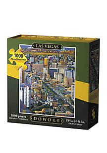 DOWDLE PUZZLES Las Vegas 1,000 Piece Puzzle