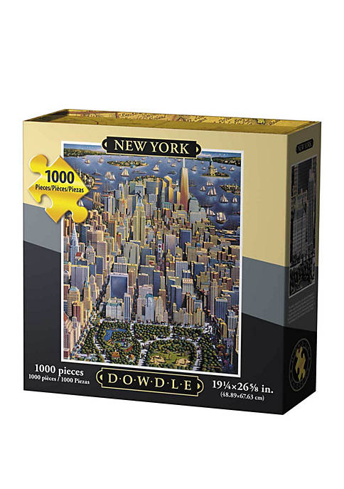 DOWDLE PUZZLES New York 1000 Piece Puzzle
