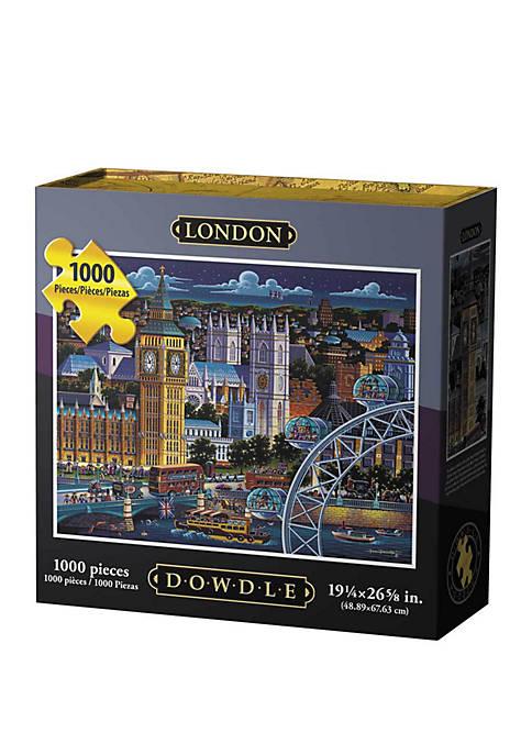 DOWDLE PUZZLES London 1000 Piece Puzzle