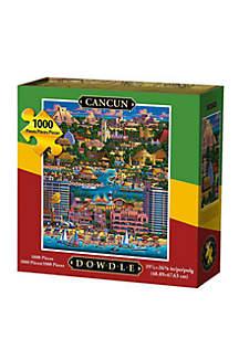 DOWDLE PUZZLES Cancun 1000 Piece Puzzle