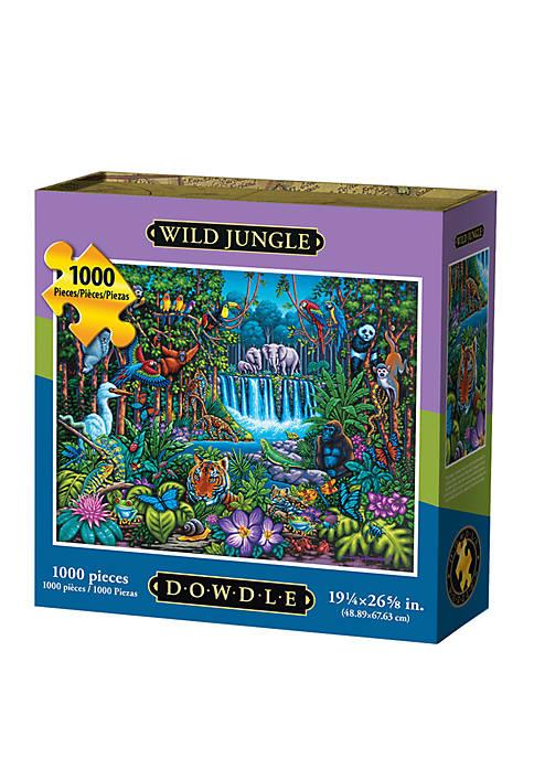Wild Jungle 1000 Piece Puzzle