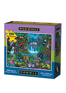 DOWDLE PUZZLES Wild Jungle 1000 Piece Puzzle