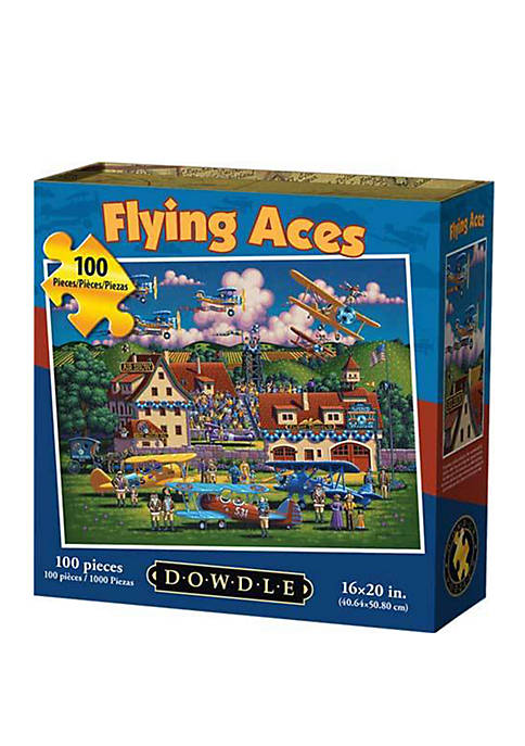 Flying Aces 100 Piece Puzzle