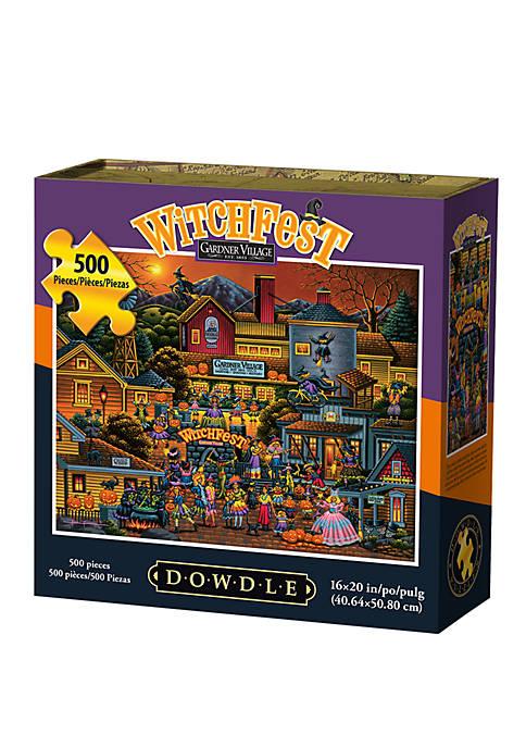 Witchfest 500 Piece Puzzle
