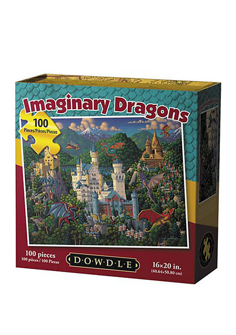 Imaginary Dragons 100 Piece Puzzle