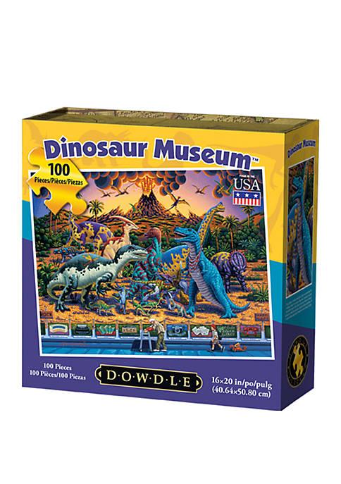 Dinosaur Museum 100 Piece Puzzle