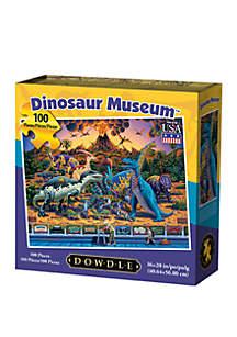 DOWDLE PUZZLES Dinosaur Museum 100 Piece Puzzle