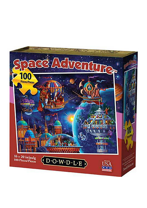 Space Adventure 100 Piece Puzzle